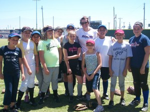 Gold Sox Softball Camp Team.JPG